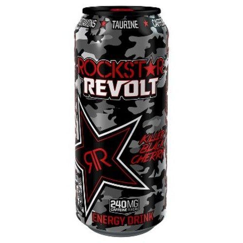 Rockstar® Revolt Killer Black Cherry Energy Drink - 16 fl oz Can