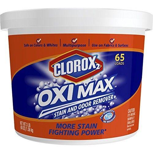 Clorox 2 Oxi Max Multi-Purpose Stain and Odor Remover Powder, 48 Ounces