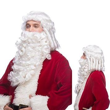 Sepia Costume Santa SX Synthetic Wig White