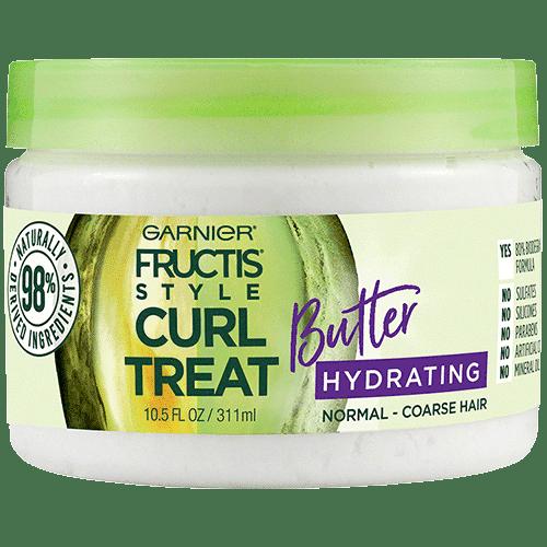 Garnier Curl Treat Butter Hydrating Leave-in Styler to Shape Curls