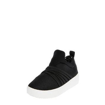 Wonder Nation - Wonder Nation Bungee Slip-on Fashion Sneaker (Toddler Girls) [name: shoe_size value: shoe_size-7]