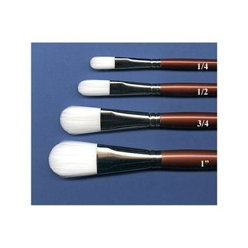Robert Simmons - White Sable Watercolor Brush - Oval Wash - 3/4'