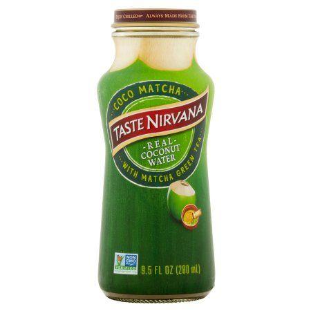 Taste Nirvana Int'l Inc. Taste Nirvana, Tea Green Cocoa Matcha, 9.5 Fo (Pack Of 12)