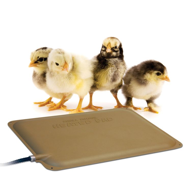 K&H Pet Products Thermo-Peep Heated Pad Tan Petite 9 X 12 Inches