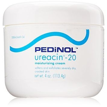 PEDINOL LABORATORIES Ureacin-20 Cream for Softens Dry, 4 Ounce by PEDINOL LABORATORIES