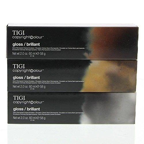 TIGI Colour Creative Creme Hair Color for Unisex, No. 6/3 Dark Golden Blonde, 2 Ounce