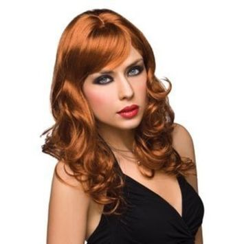 Pleasure Wigs Aubrey Wig, Red