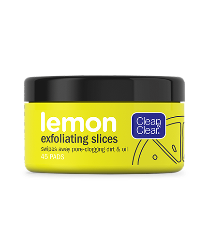 Clean & Clear® Lemon Exfoliating Slices, 45 Count