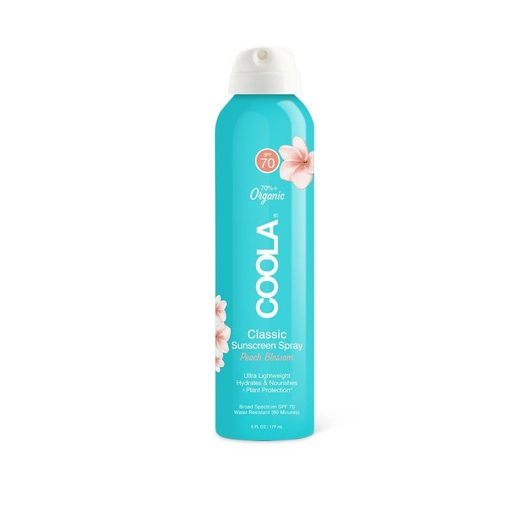COOLA Organic Suncare Collection Classic Body Organic Sunscreen Spray SPF 70