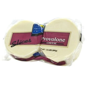 Provolone Cheese Slices - 1.5 lbs