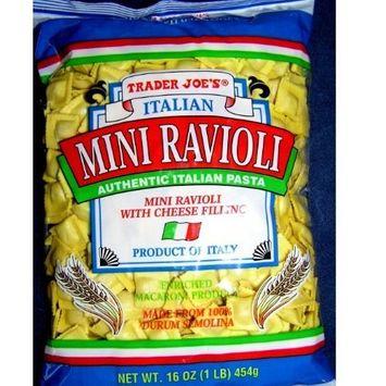 Trader Joe's Italian Mini Ravioli with Cheese Filling (16oz 7 Pack!)