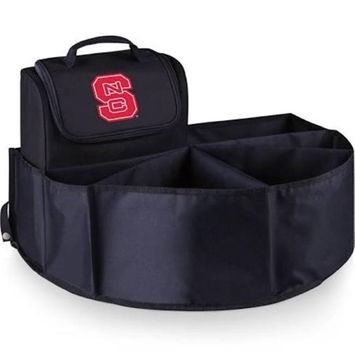 Picnic Time 715-00-179-424-0 North Carolina State Digital Print Trunk Boss in Black with Cooler