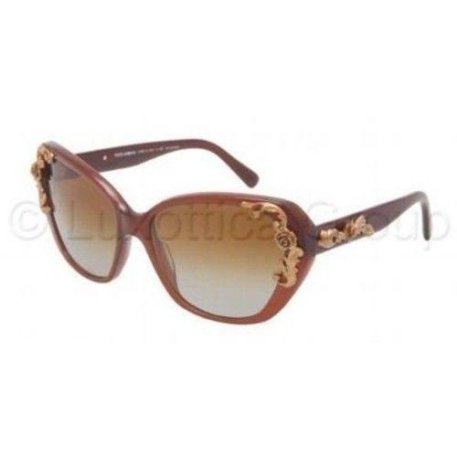 Dolce & Gabbana DG4167 Sunglasses-2682/T5 Caramel (Polar Brown Grad Lens)-59mm