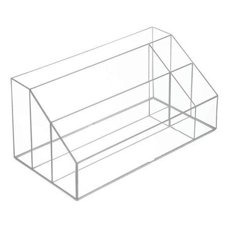 Interdesign 41270 Clarity Cosmetic Palette Organizer- Large