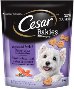 Cesar ® Bakies Tm Aplewood Smoked Bacon Flavour 180G