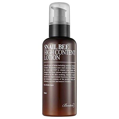 Benton 3 PCS Snail Bee High Content Lotion 120ml (Harmful ingredients free, alcohol free, water free), BentonS01-Contentlotion