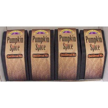 Pumpkin Spice Quickbread Mix - 4 Boxes