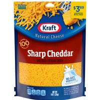 Kraft Sharp Cheddar Shredded Cheese