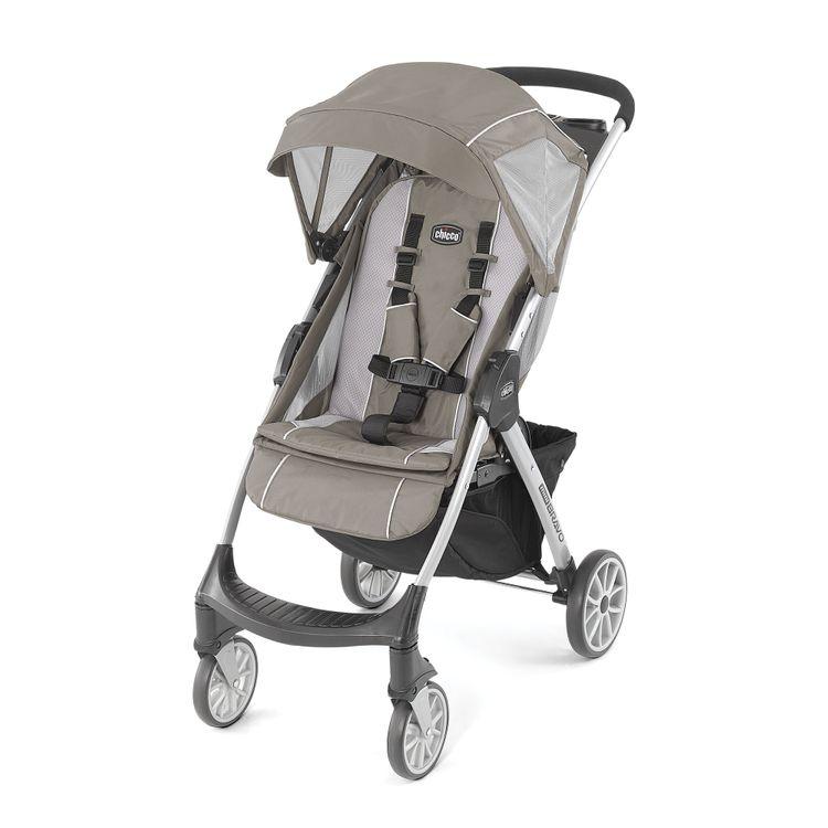 Chicco Mini Bravo Lightweight Stroller - Stone