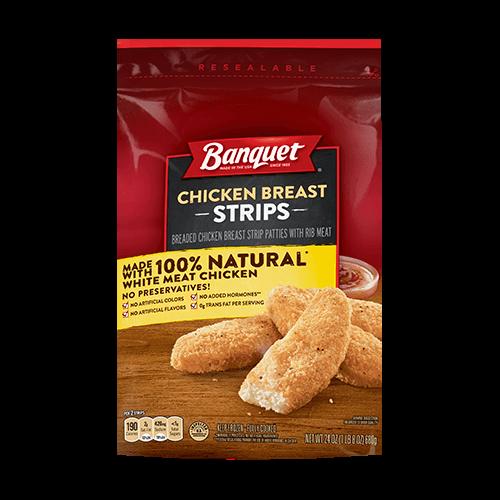 Banquet Chicken Breast Strips (Bag)