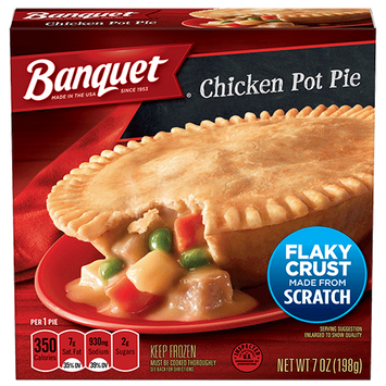 Banquet Chicken Pot Pie