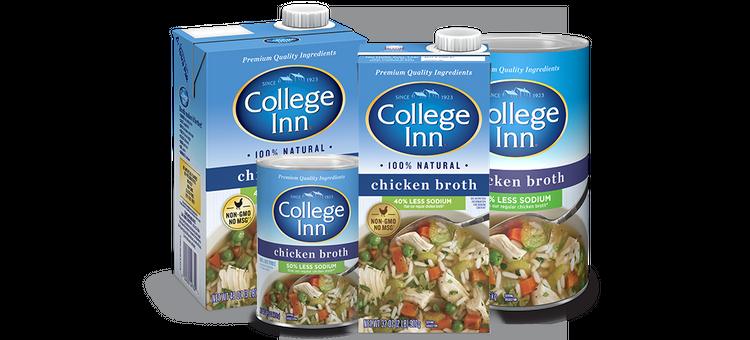 College Inn Fat Free & Lower Sodium Chicken Broth