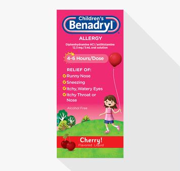 Children's BENADRYL® Allergy Liquid