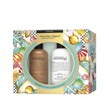 Philosophy Chocolate Dipped Shortbread Cookie Shower Gel And Body Lotion Duo