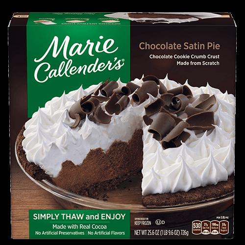 Marie Callender's Chocolate Satin Pie