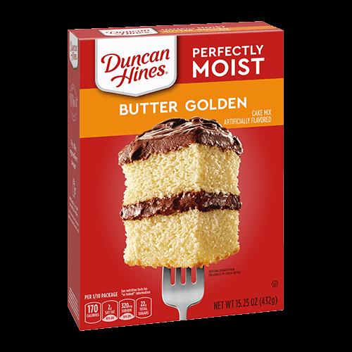 Duncan Hines Classic Butter Golden Cake Mix