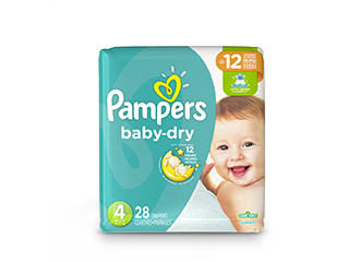 Pampers Diapers Baby-Dry