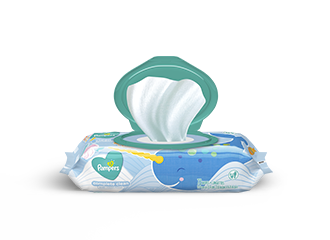 Pampers Wipes Complete Clean Baby Fresh Scent