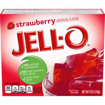 Jell-O Strawberry Instant Gelatin Mix