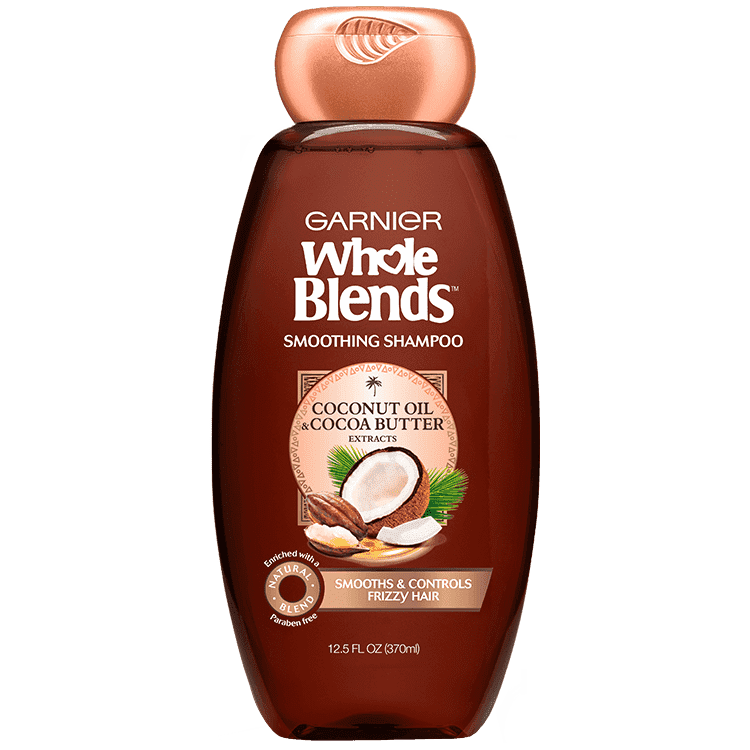 Garnier Smoothing Shampoo with Coconut Oil & Cocoa Butter Extracts