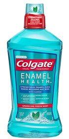 Colgate®Enamel Health™ Mouthwash, Alcohol-Free