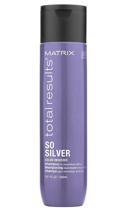 Matrix So Silver Color Depositing Purple Shampoo For Blonde And Silver Hair