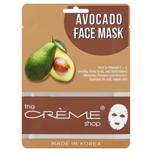 Creme Shop Avocado Mask 1 Pack