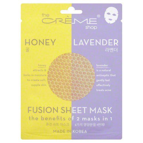 Creme Shop Honey/Lavender Mask 1 Pack