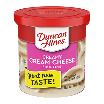 Duncan Hines Creamy Cream Cheese Frosting