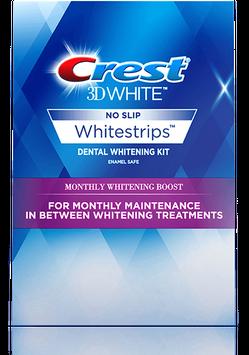 Crest 3D White Monthly Whitening Boost Whitestrips - Teeth Whitening Kit
