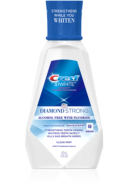 Crest 3D White Luxe Diamond Strong Mouthwash