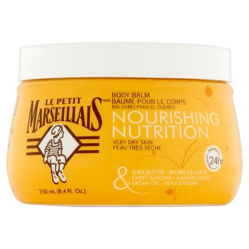 Le Petit Marseillais Shea Butter, Almond & Argan Oil Body Balm 8.4 oz
