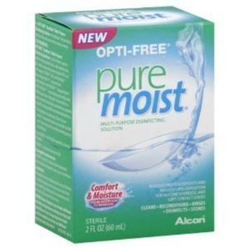 OPTI-FREE Pure Moist Multi-Purpose Disinfecting Solution, All Day Comfort 2 oz