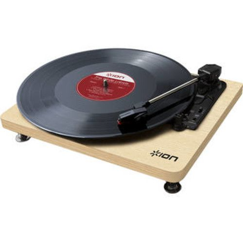 ION Audio Compact LP 3-Speed Turntable with Digital Conversion