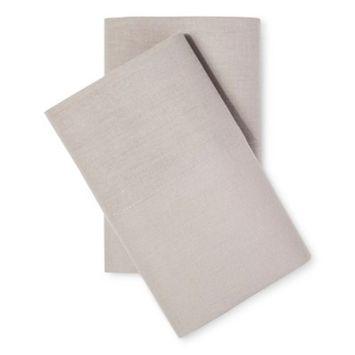 Pillowcases Cotton Linen Blend
