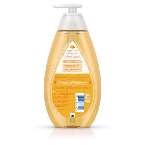 Johnson's Baby Shampoo with Tear Free Formula Triple-Pack, 3 x 20.3 fl. oz
