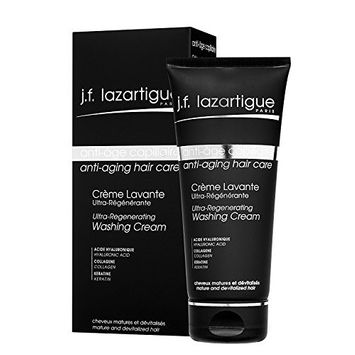 J. F. Lazartigue Anti-Aging Hair Care Ultra-Regenerating Washing Cream, 6.8 Ounce