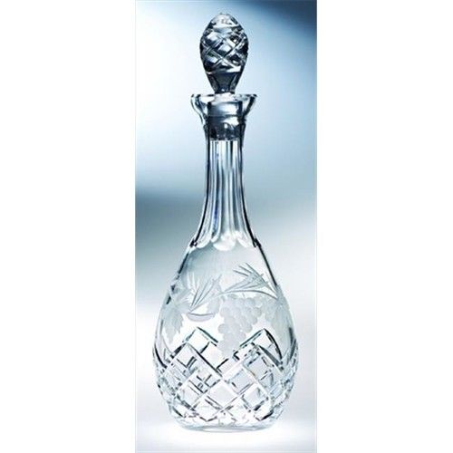 Majestic Gifts C664GR Grape 38 oz. Crystal Wine Decanter