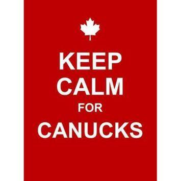 Summersdale Keep Calm For Canucks