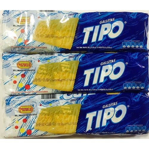 Pozuelo Tipo Cookies 10.58oz (Pack of 3)